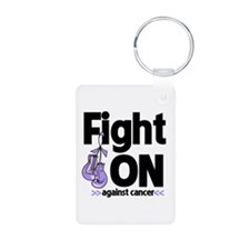 Fight On General Cancer Keychains