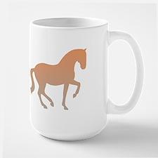 equestrian (w/ piaffe horse) Large Mug