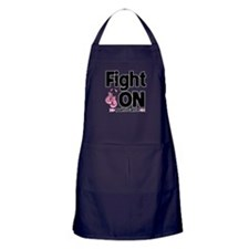 Fight On Breast Cancer Apron (dark)