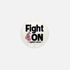 Fight On Breast Cancer Mini Button (10 pack)