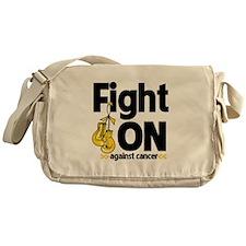 Fight On Childhood Cancer Messenger Bag