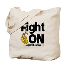 Fight On Appendix Cancer Tote Bag