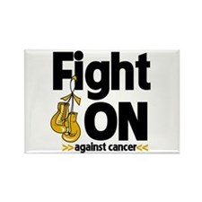 Fight On Appendix Cancer Rectangle Magnet
