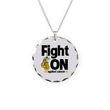 Fight On Appendix Cancer Necklace