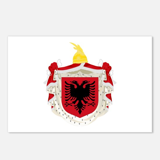 Albanian Kingdom Coat of Arms Postcards (Package o