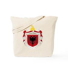 Albanian Kingdom Coat of Arms Tote Bag