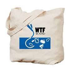 WTF - Why The Foley 01 Tote Bag