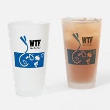 WTF - Why The Foley 01 Drinking Glass