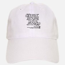 Hamilton Educated Quote Baseball Baseball Cap