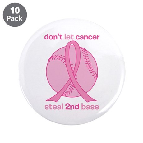 """2nd Base 3.5"""" Button (10 pack)"""