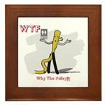 WTF - Why The Foley 03 Framed Tile
