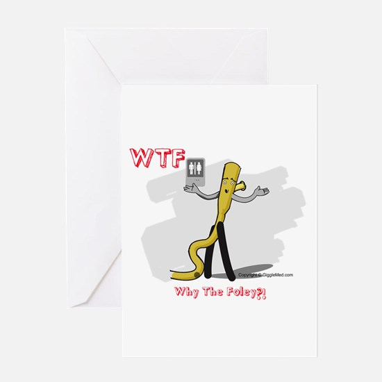 WTF - Why The Foley 03 Greeting Card
