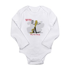 WTF - Why The Foley 03 Long Sleeve Infant Bodysuit