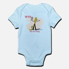 WTF - Why The Foley 03 Infant Bodysuit