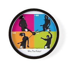 WTF - Why The Foley 04 Wall Clock