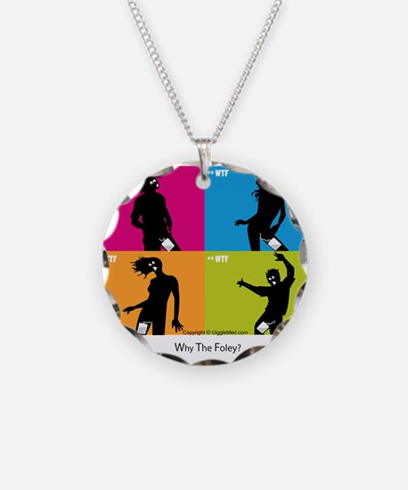 WTF - Why The Foley 04 Necklace Circle Charm