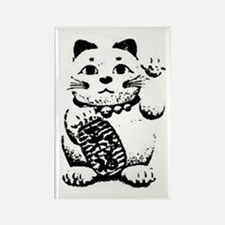 Maneki Neko Rectangle Magnet