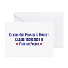 Killing Thousands Greeting Cards (Pk of 10)
