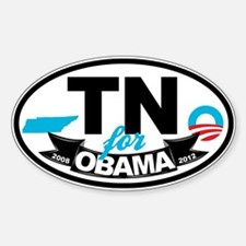 Tennessee for Obama 2012 Decal