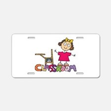 Back-to-School Aluminum License Plate