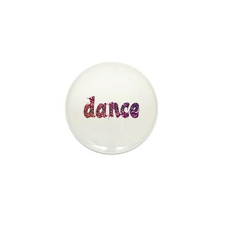 Dance Glitter Mini Button