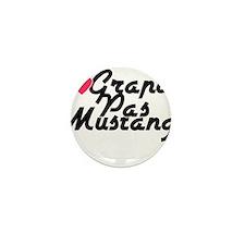 Grand Pas Mustang Mini Button
