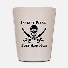 Classic Instant Pirate Shot Glass