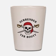 Surrender Yer Booty Shot Glass