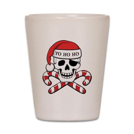 Christmas Pirate Shot Glass