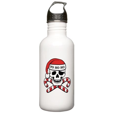 Christmas Pirate Stainless Water Bottle 1.0L