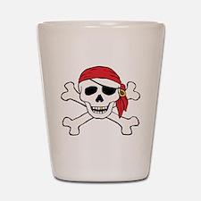 Funny Pirate Shot Glass
