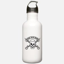 Prepare To Be Boarded Water Bottle