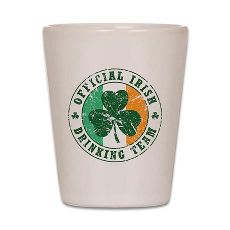 'Vintage' Irish Drinking Team Shot Glass