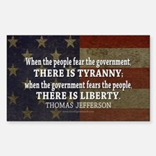 Liberty vs. Tyranny - New Decal