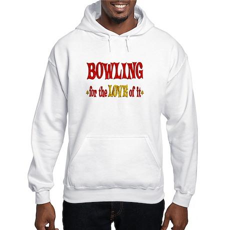 Bowling Love Hooded Sweatshirt