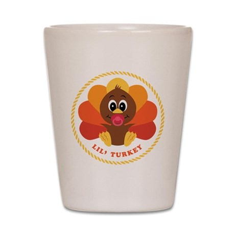 Lil' Turkey Shot Glass