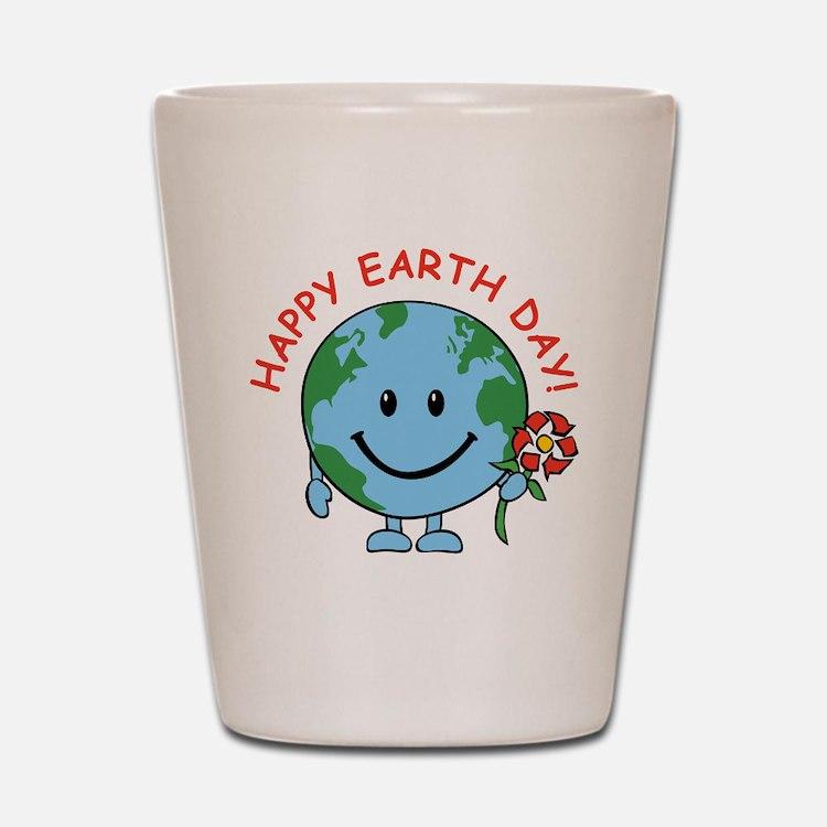 Earth Day Shot Glass