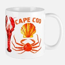 Cape Cod - Lobster, Crab and Mug