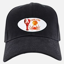 Cape Cod - Lobster, Crab and Baseball Hat