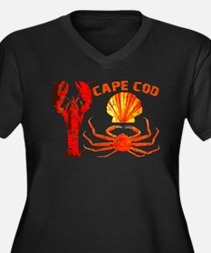 Cape Cod - Lobster, Crab and Women's Plus Size V-N
