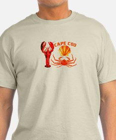 Cape Cod - Lobster, Crab and T-Shirt