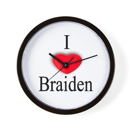 Braiden Wall Clock