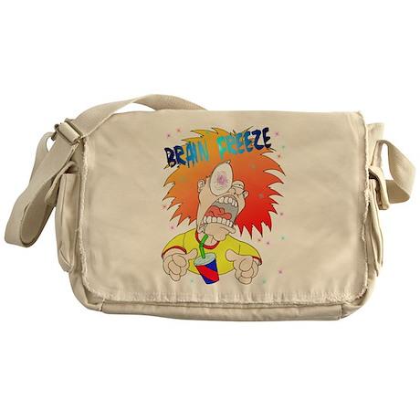 Brain Freeze! Messenger Bag