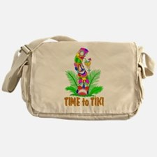 TIME to TIKI Messenger Bag