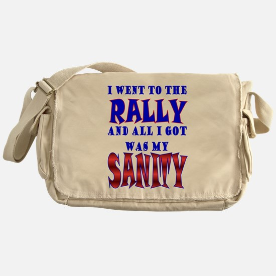 Back from the Sanity Rally Messenger Bag