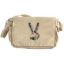 rally to restore Sanity Finge Messenger Bag