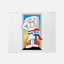 SchoolHouse Rocks Bill 2 Throw Blanket