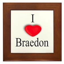 Braedon Framed Tile