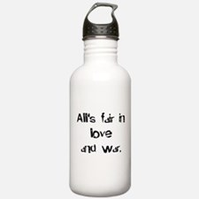 love and war Water Bottle