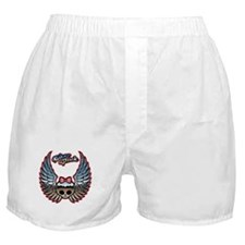 Molly Chrome Bike Boxer Shorts